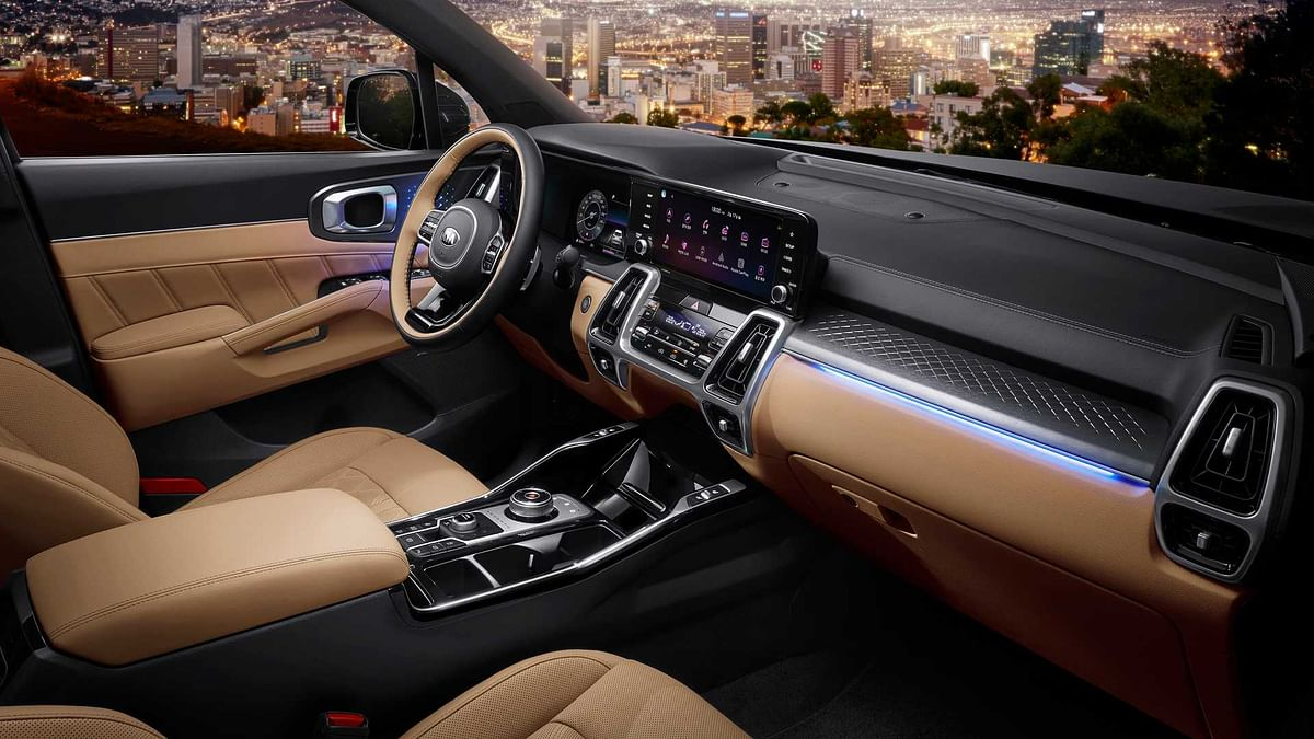 Interior gets all-new trims, leather upholstery and embossed wood surfaces