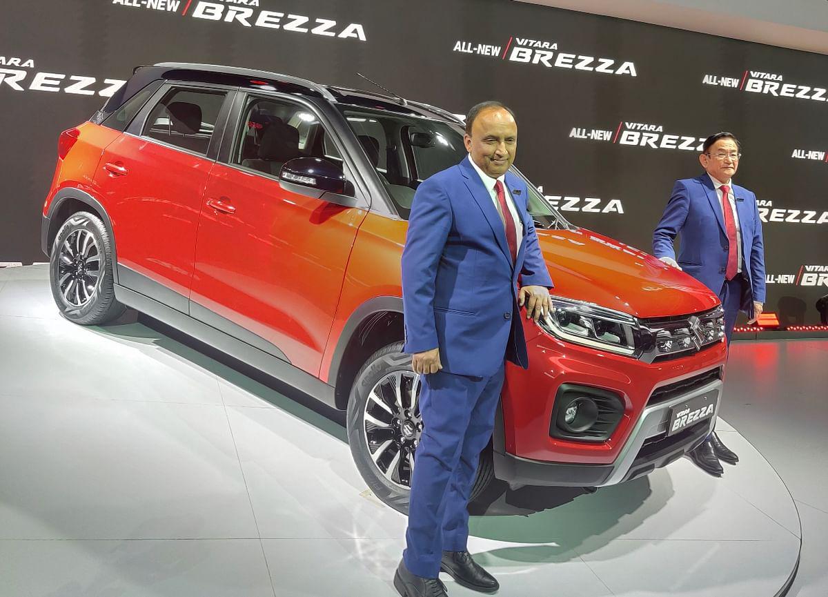 Auto Expo 2020: Maruti Suzuki unveils the Vitara Brezza facelift