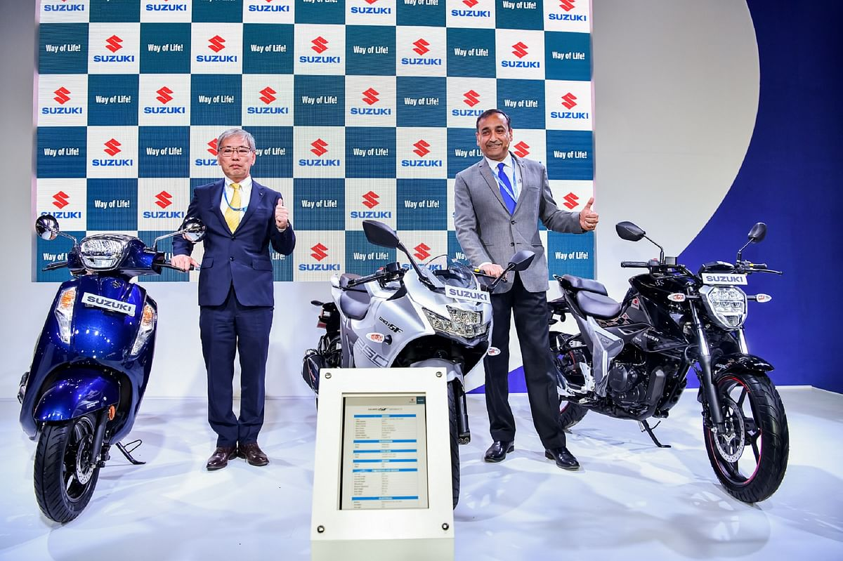 Auto Expo 2020: Suzuki Katana on display with GSX-RR
