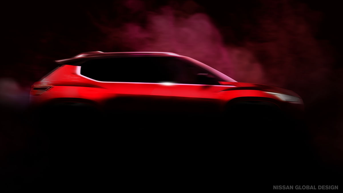 Nissan teases upcoming compact SUV