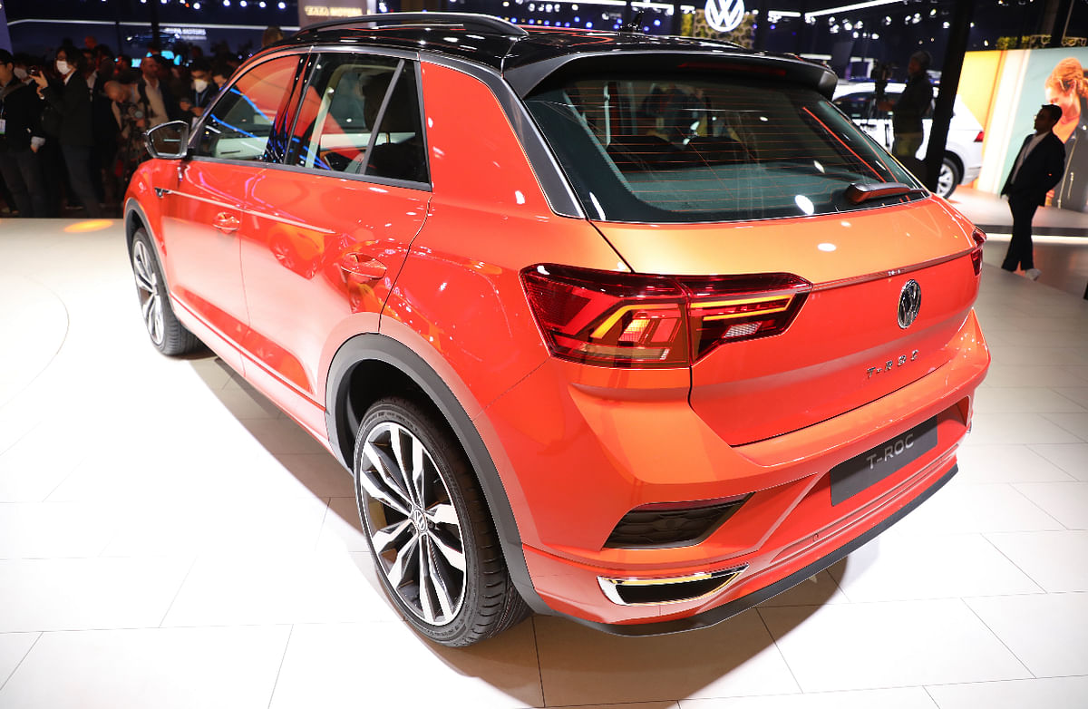 The T-Roc has a clean design with tight lines very typical of Volkswagen.