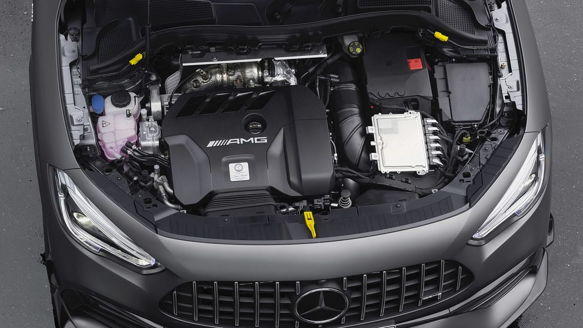 The standard GLA45 produces 381bhp and 475 Nm of torque, with the GLA45 S boasting 415bhp at 6750rpm, and 500 Nm of torque