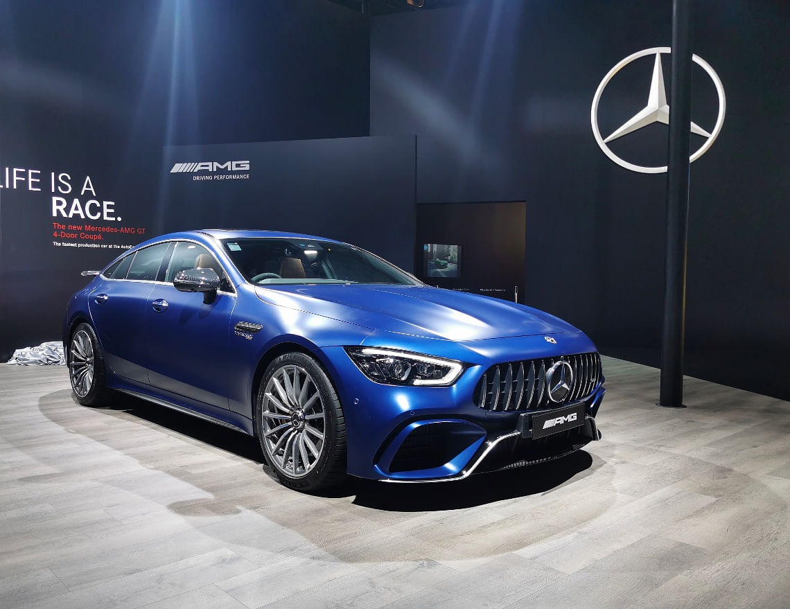 The AMG GT-4 Door Coupe