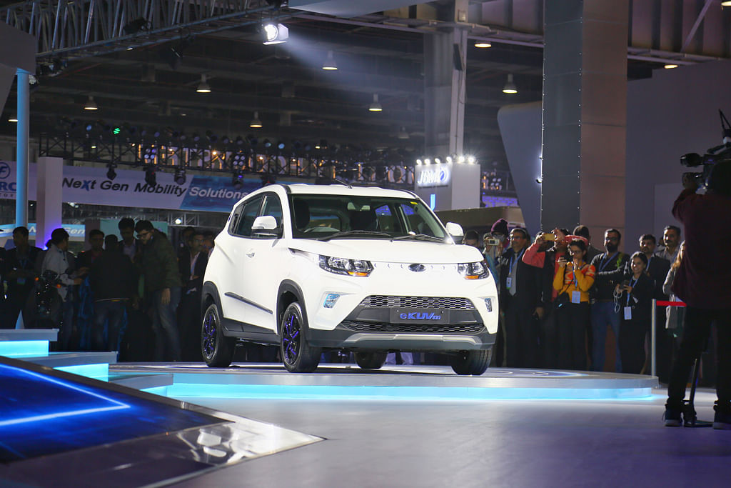 Auto Expo 2020: Mahindra unveils eXUV300 and eKUV100 along with two concepts