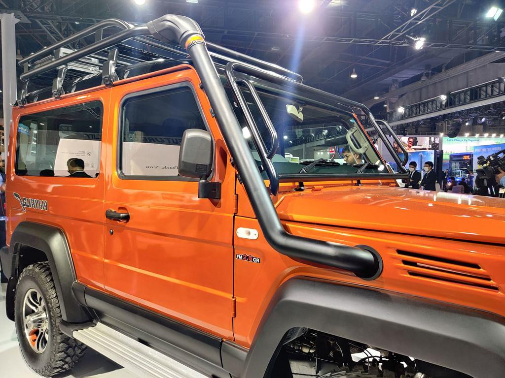 Auto Expo 2020: Force Motors unveils three new platforms, a new Gurkha