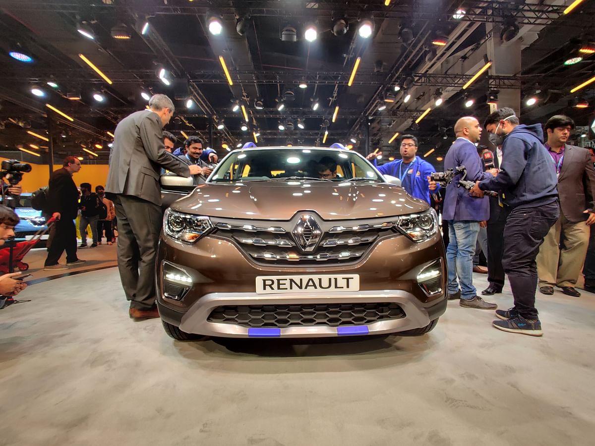Auto Expo 2020: Renault unveils Triber AMT