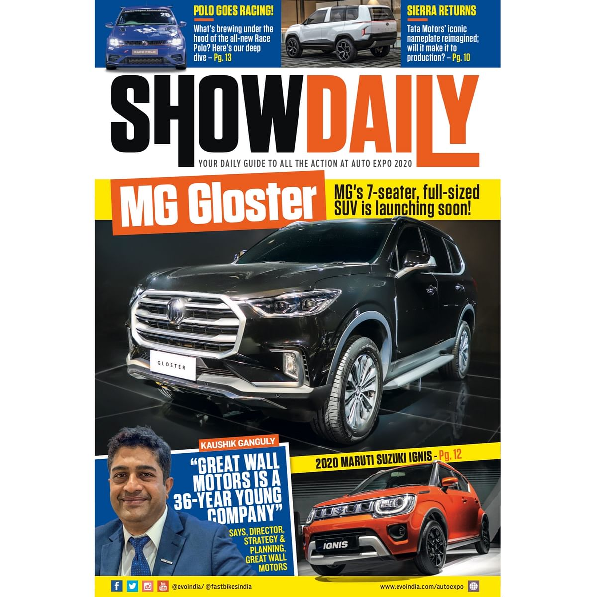 Day 4: Auto Expo Show Daily