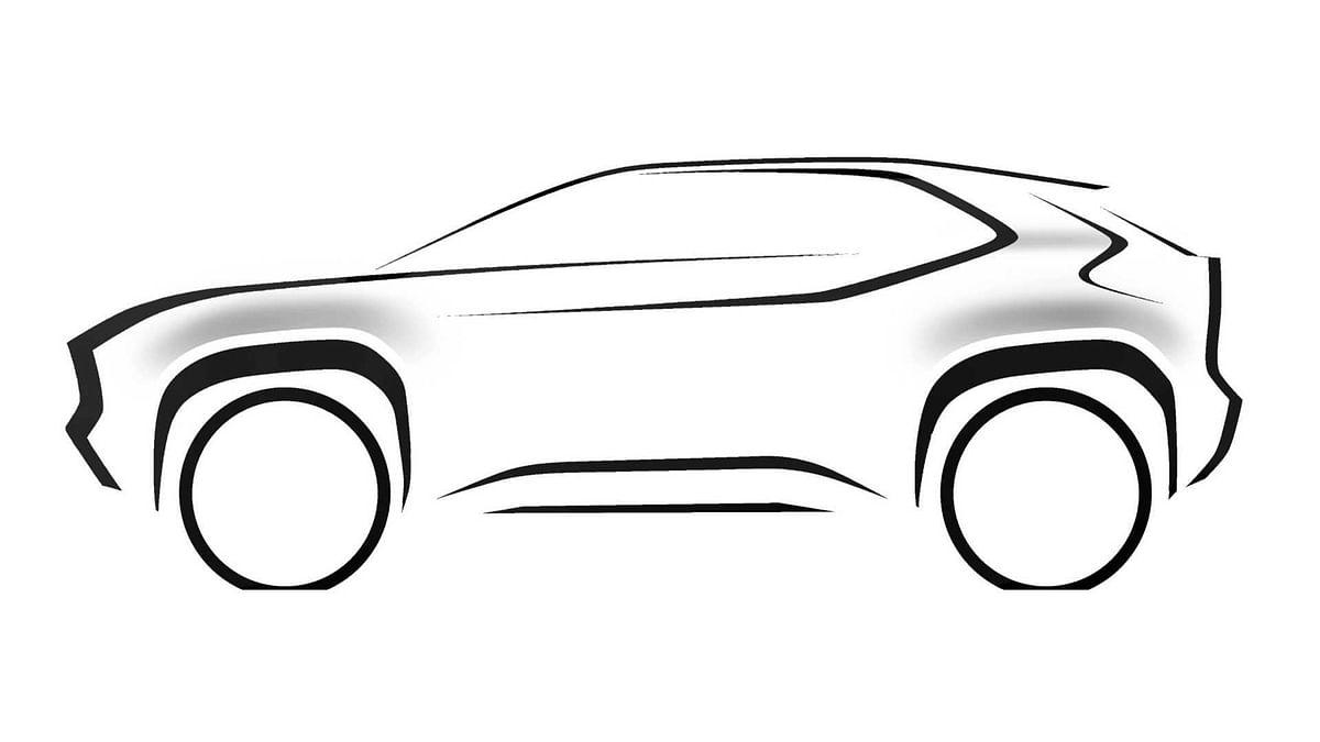 Toyota Compact SUV sketch