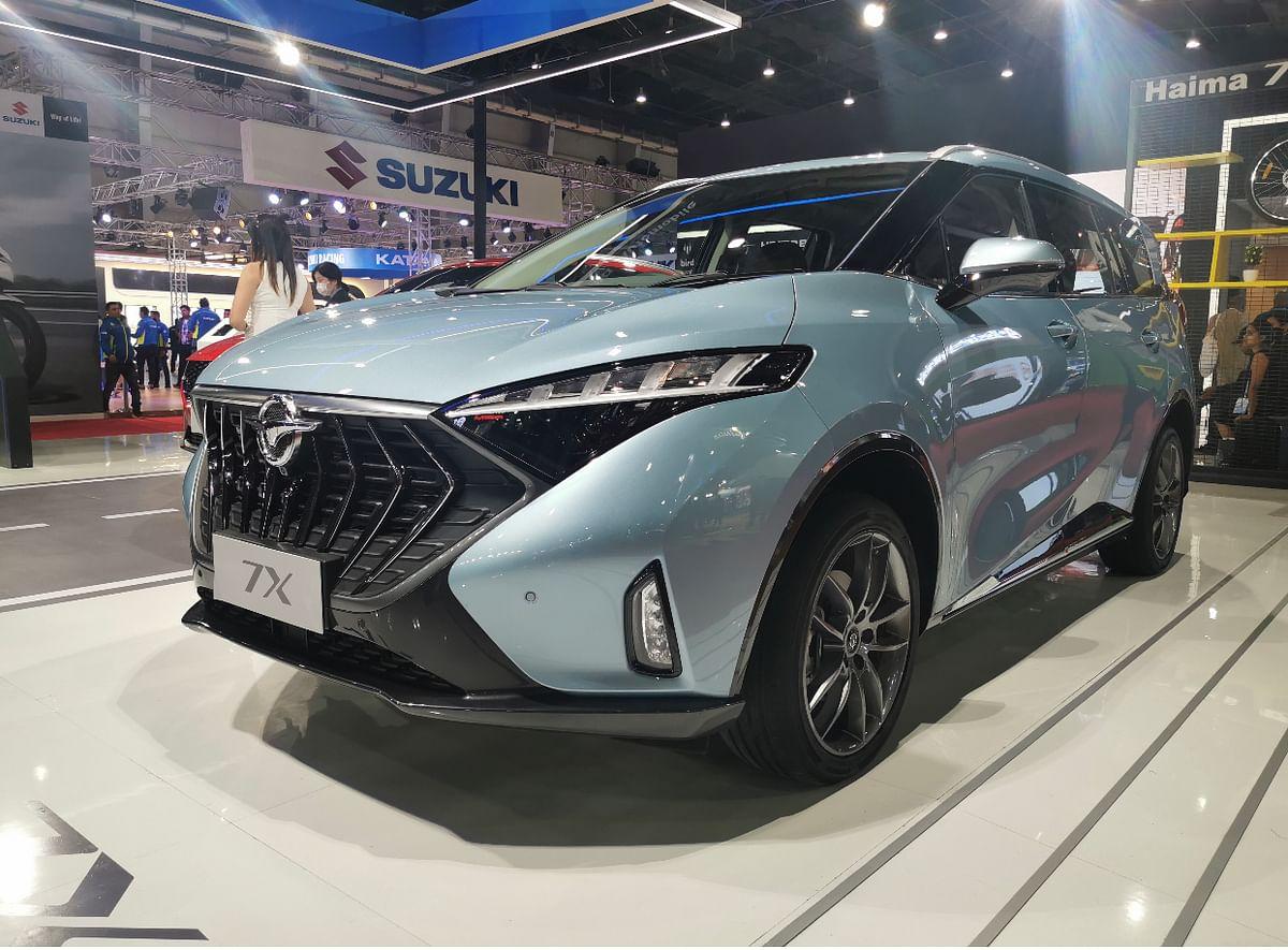 Auto Expo 2020: Haima showcases 8S SUV and 7X MPV