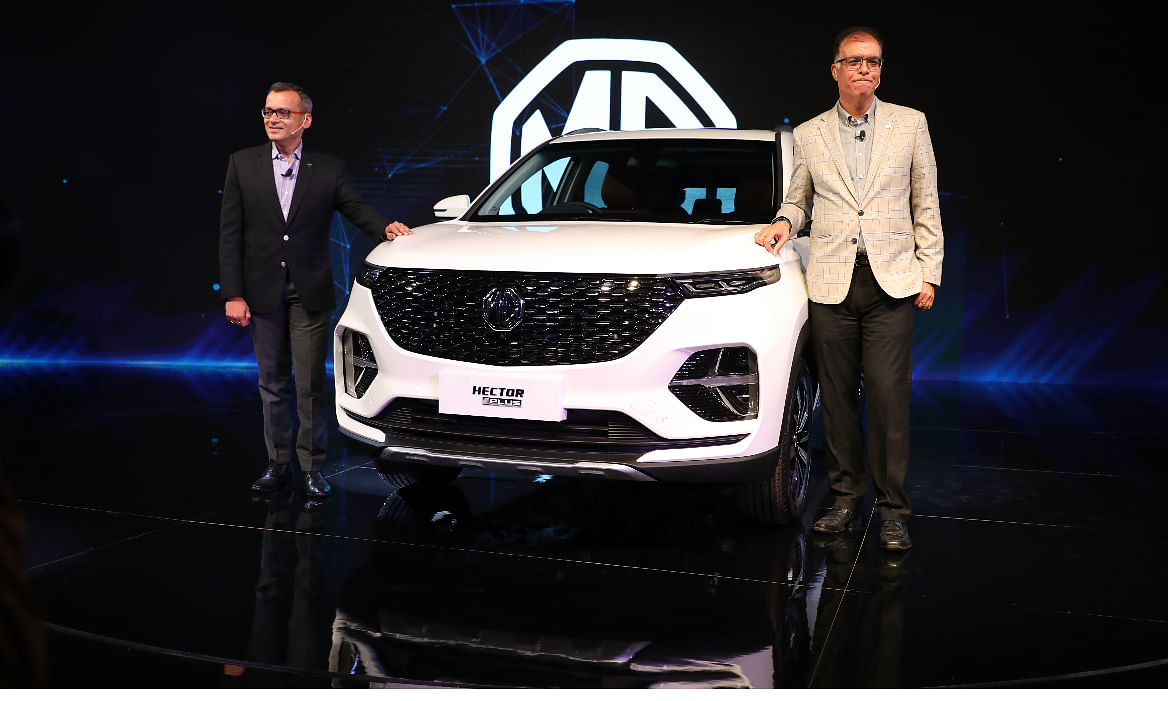 Auto Expo 2020: MG Motor India showcases Hector in 6- and 7-seater guise