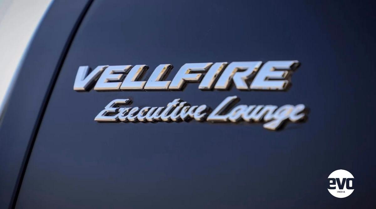 Executive Trim level for the Vellfire