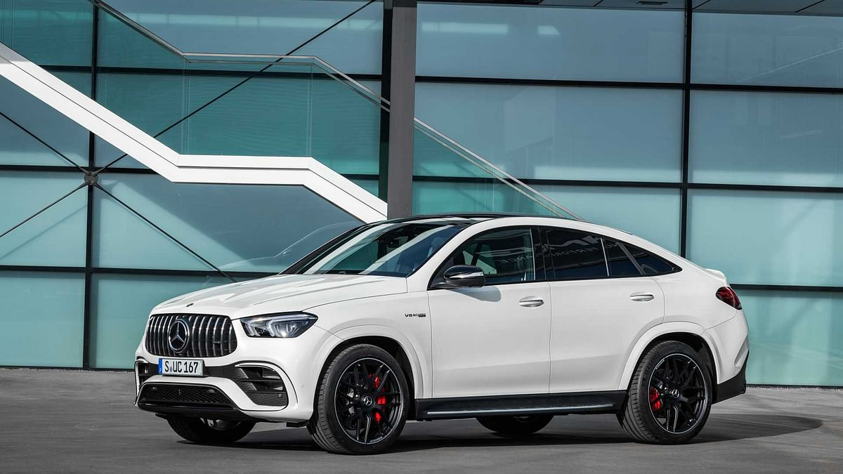 GLE63 S Coupe aesthetically falls in line with Mercedes' current form language