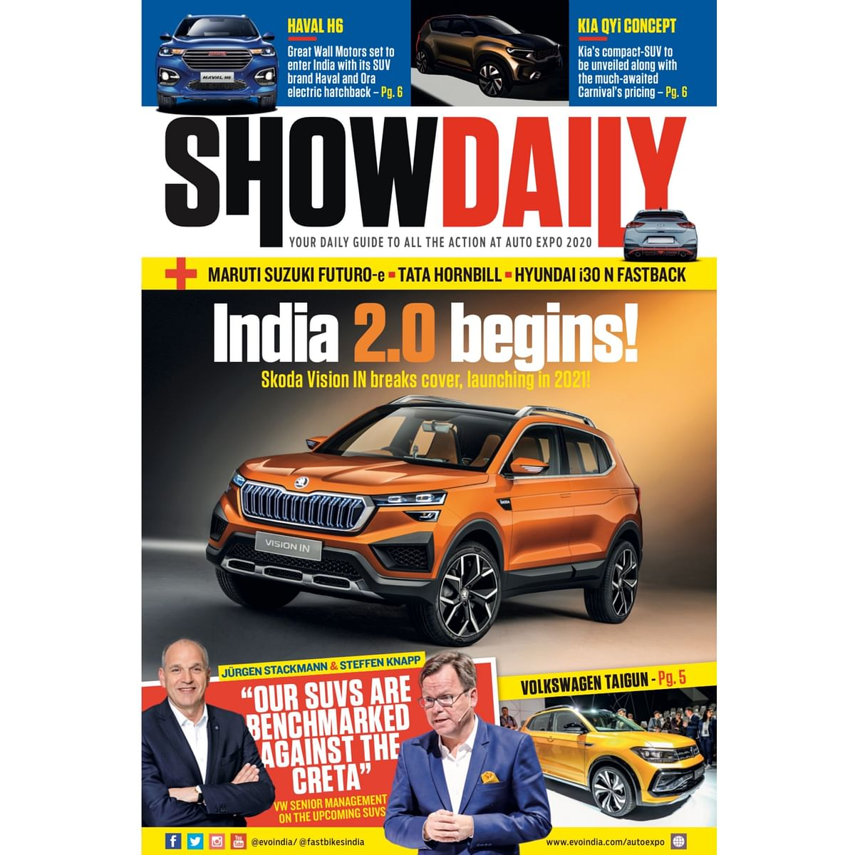 Day 1: Auto Expo Show Daily