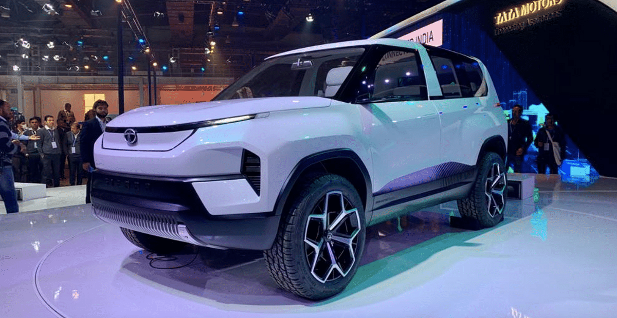 Tata Sierra concept at the 2020 Auto Expo