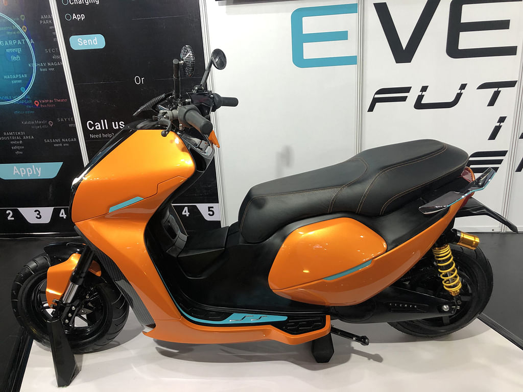 Auto Expo 2020: Everve Motor unveils its first electric scooter EF1