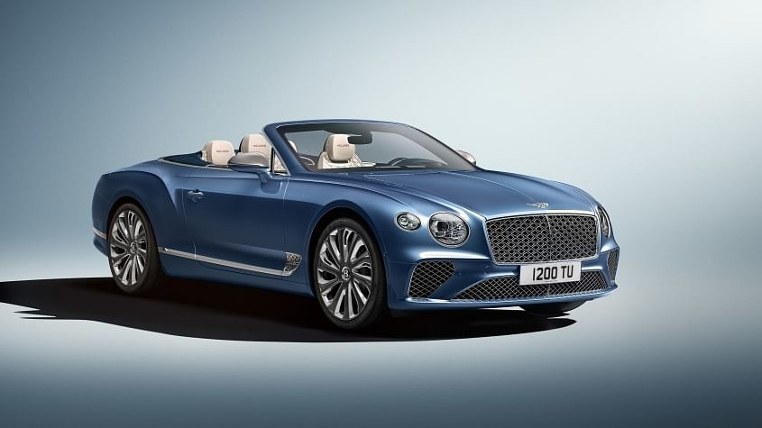 New Bentley Continental GT Mulliner Convertible uncovered