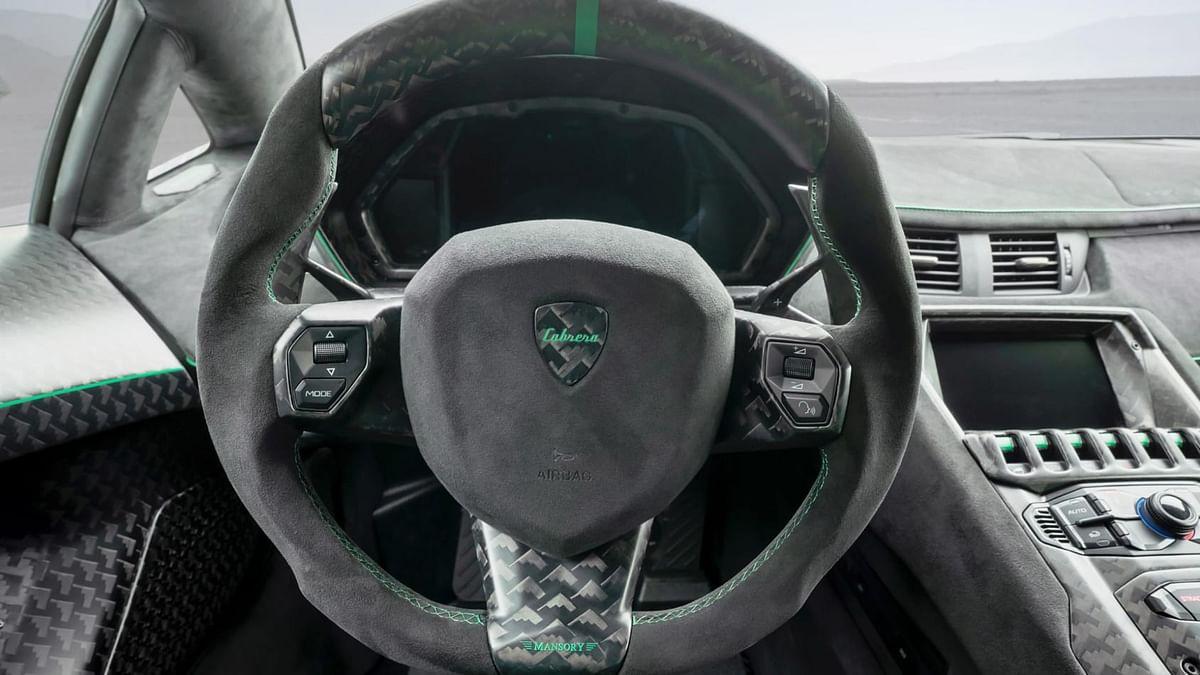 Mansory Cabrera steering