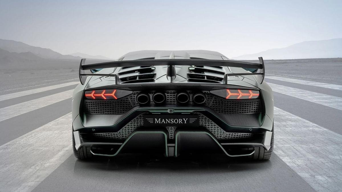 Mansory Cabrera rear
