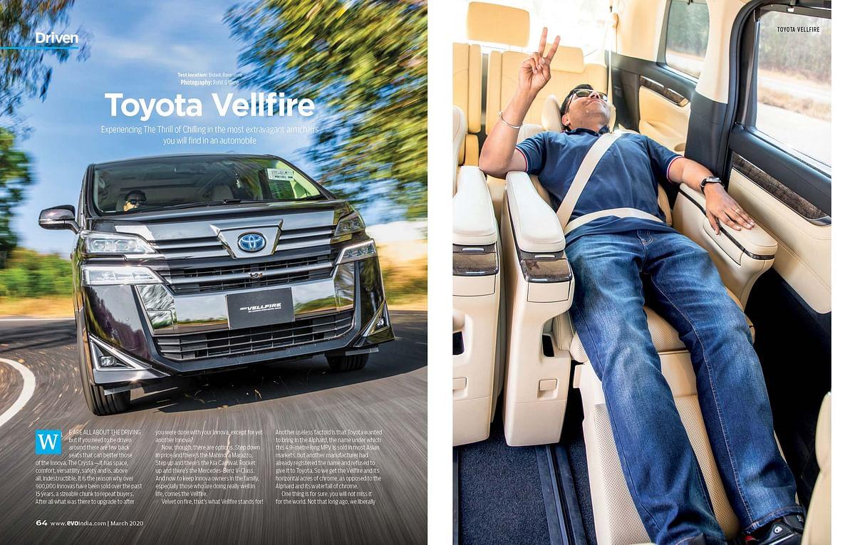 Toyota's luxurious new MPV.