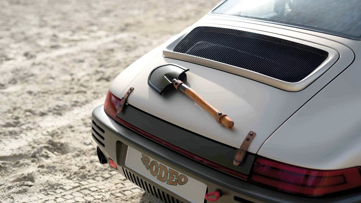 Concept is also equipped with a spade