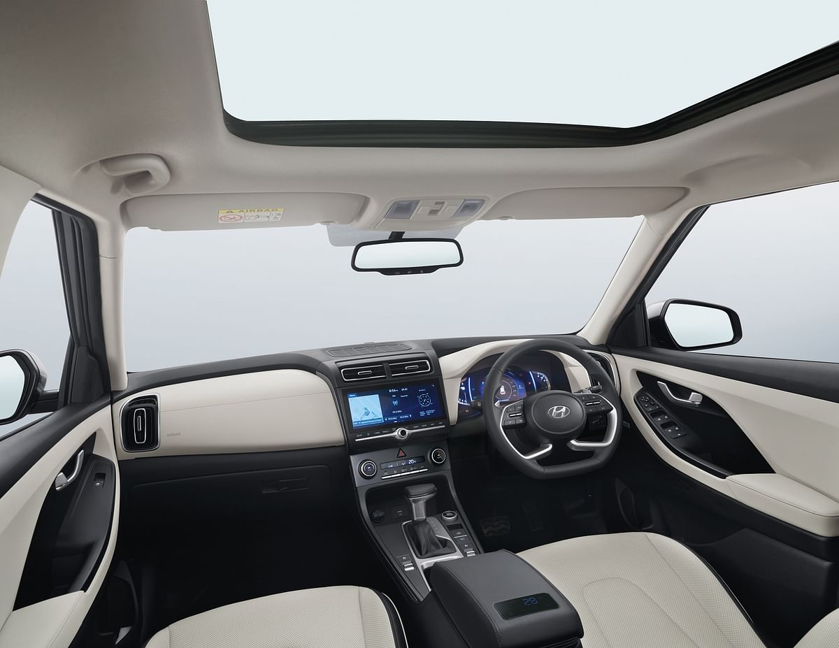 Hyundai has offered a range of segment first features like paddle shifters in the higher trims of the automatic variants, rear seat headrest cushions