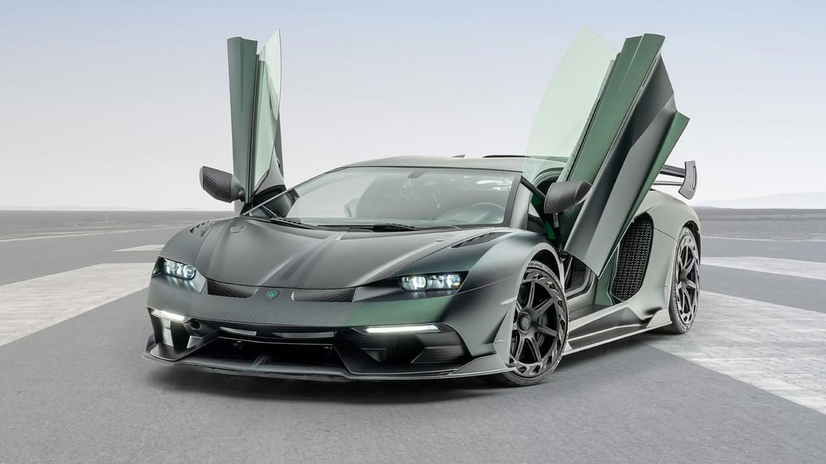 Mansory Cabrera turns Lamborghini Aventador SVJ up to 799bhp