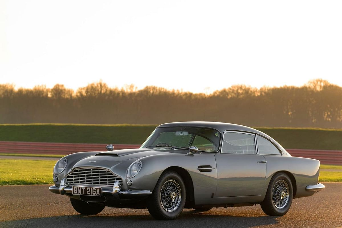The epochal DB5 remarks its entry with the chapter