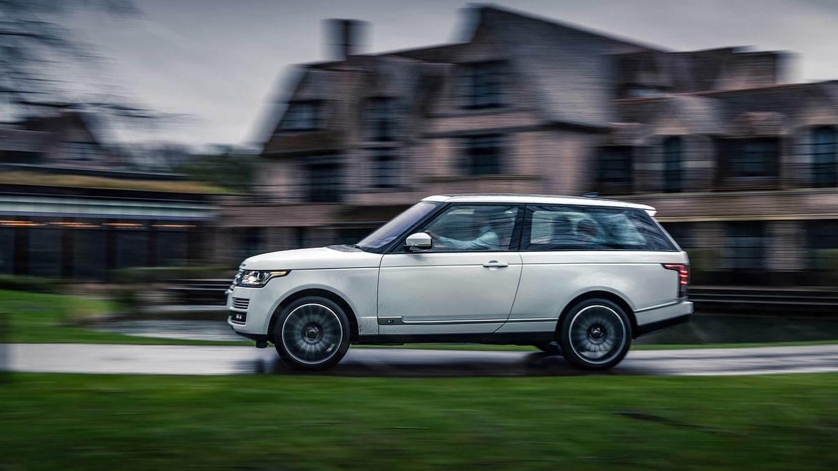 The two-door Range Rover SV Coupe was axed before it even hit the road.