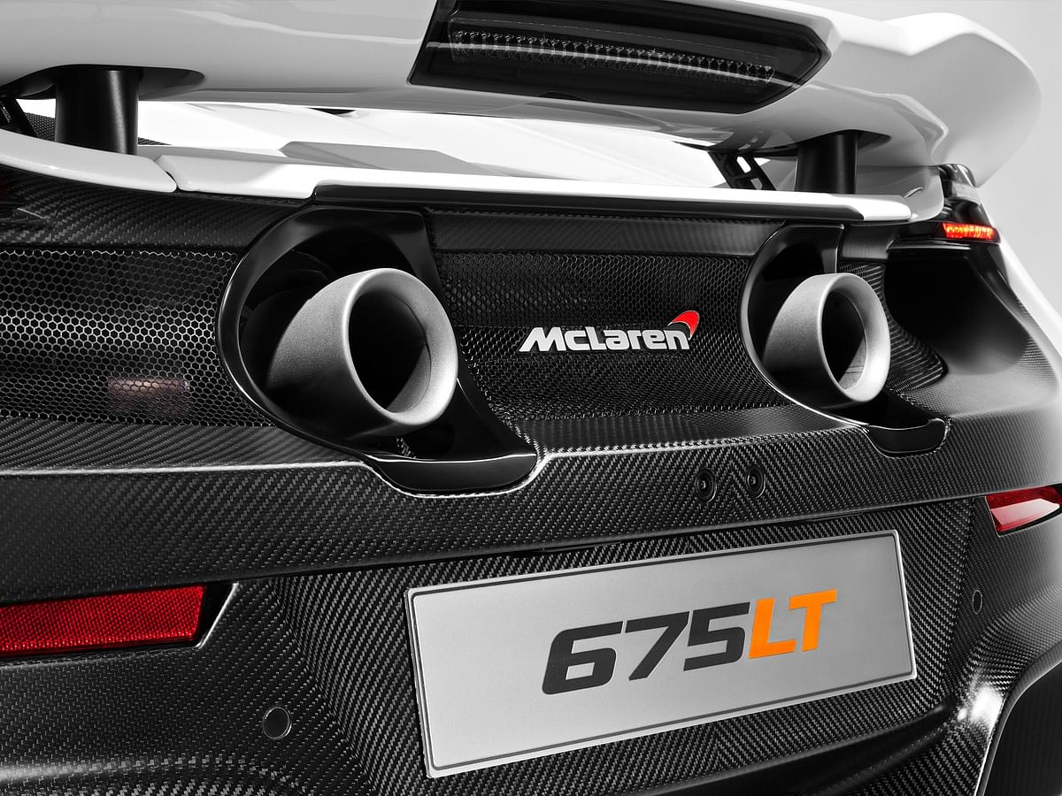Twin exhausts mounted high up look cool