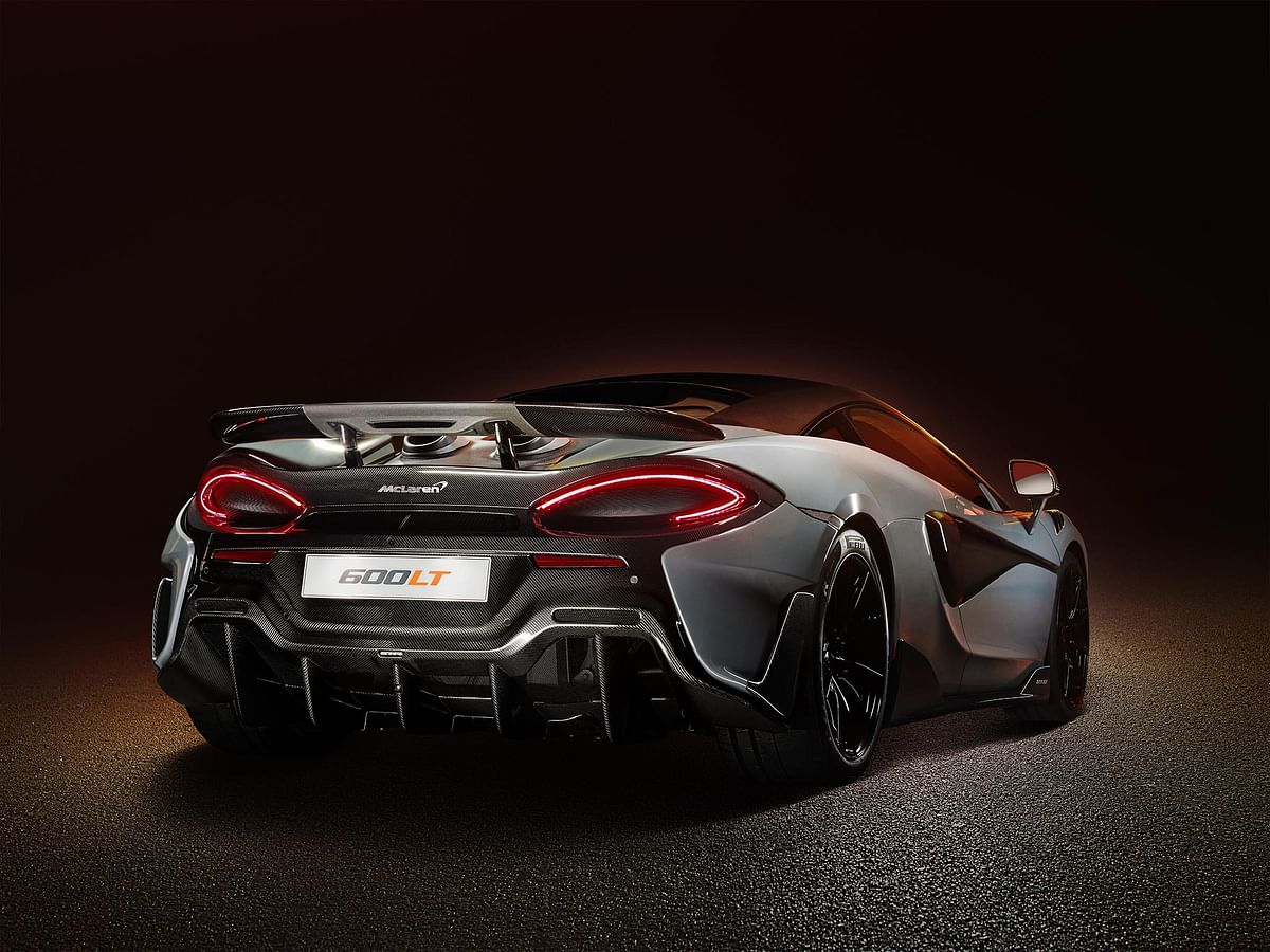 The 600LT is the only modern LT with a fixed spoiler