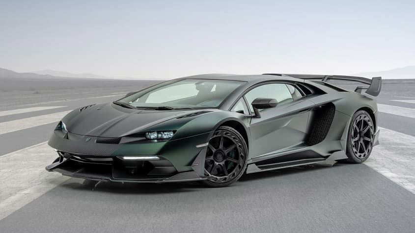 Mansory Cabrera front 3 quarters