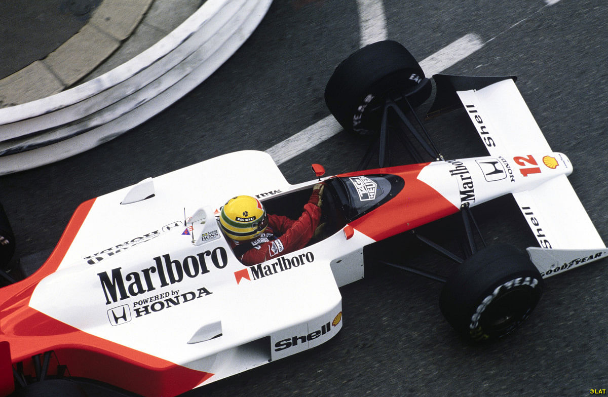 Remembering a legend, Ayrton Senna, on his birthday