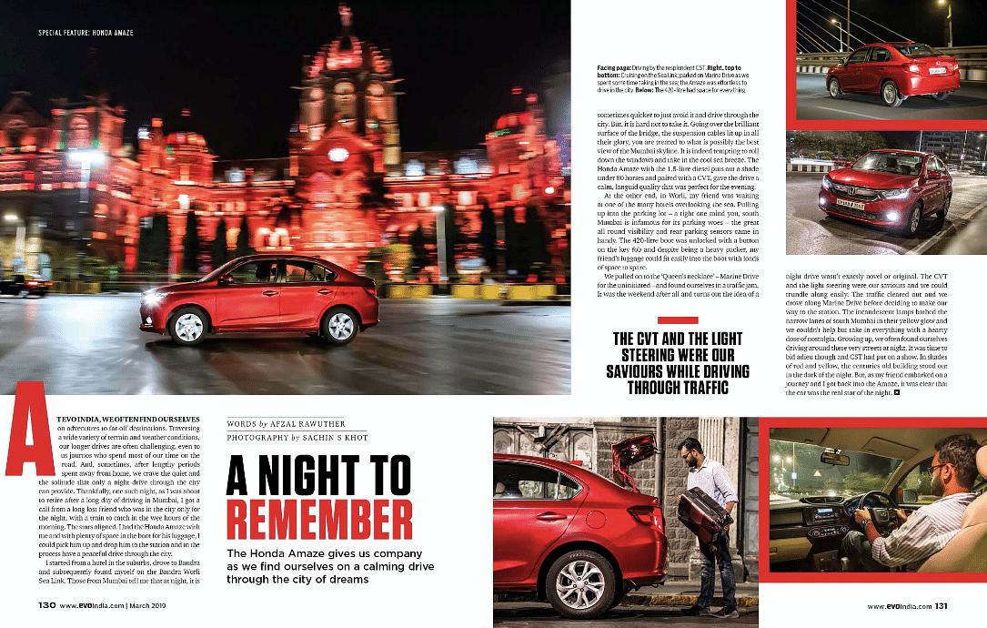 Mumbai with the Honda Amaze