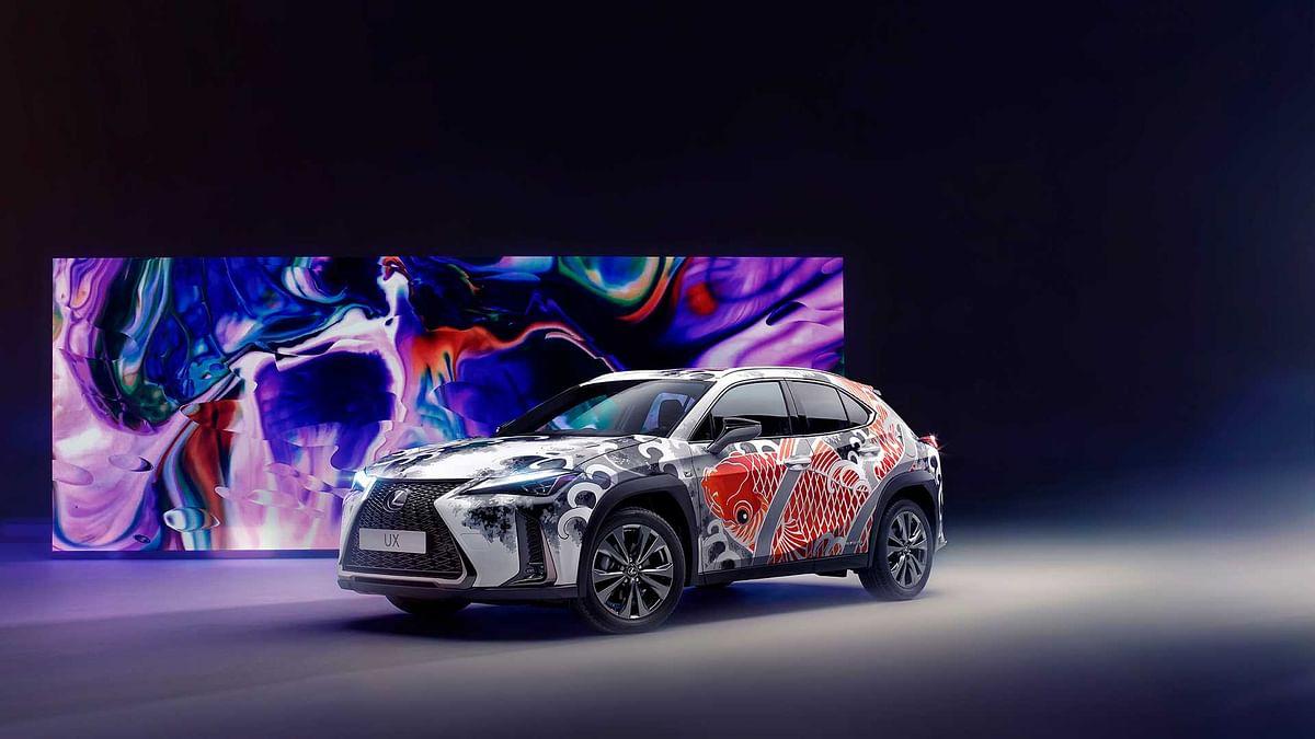 Lexus takes the art car further, creates world's first tattoo car!