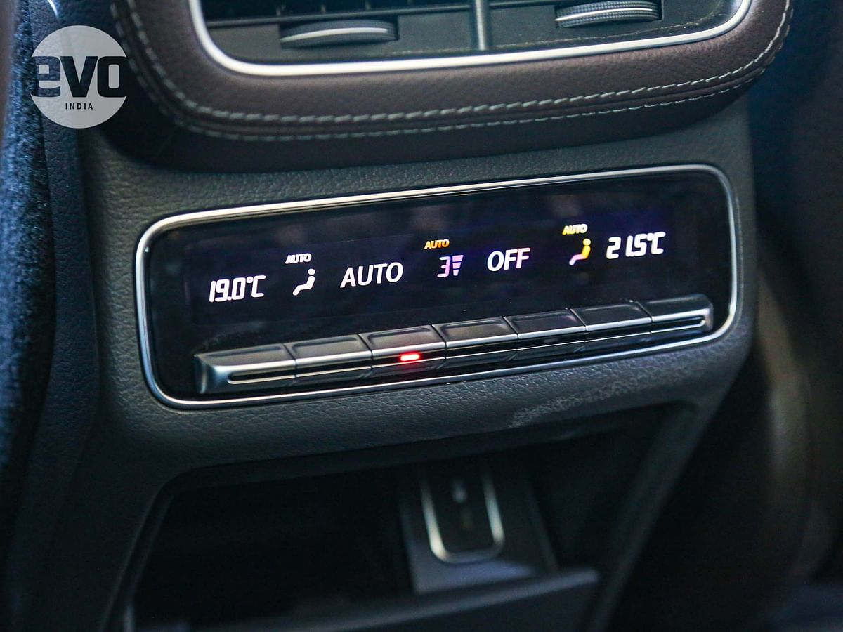 The GLE gets four-zone climate control