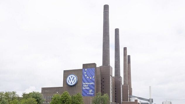 Volkswagen AG's production facility in Wolfsburg