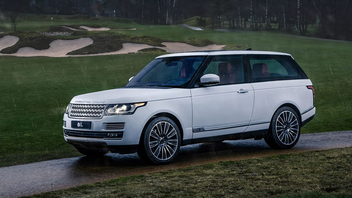 The two-door Range Rover rekindled as the Adventum Coupe