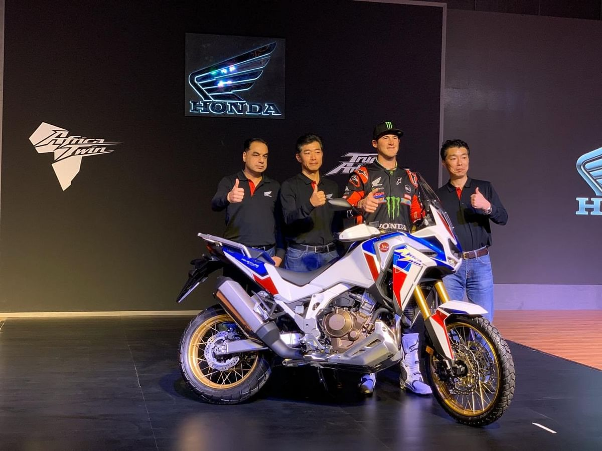 Honda Africa Adventure Sports unveiled by Ricky Brabec