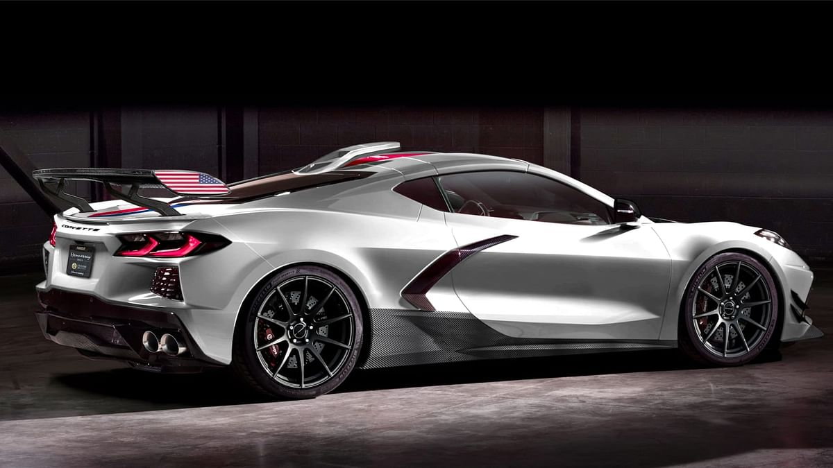 Hennessey C8 Corvette 2020 rear 3 quarters