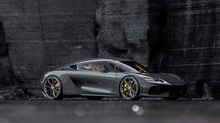 New carbonfibre chassis and an unusual technical layout that differs from pretty much anything in the automotive world