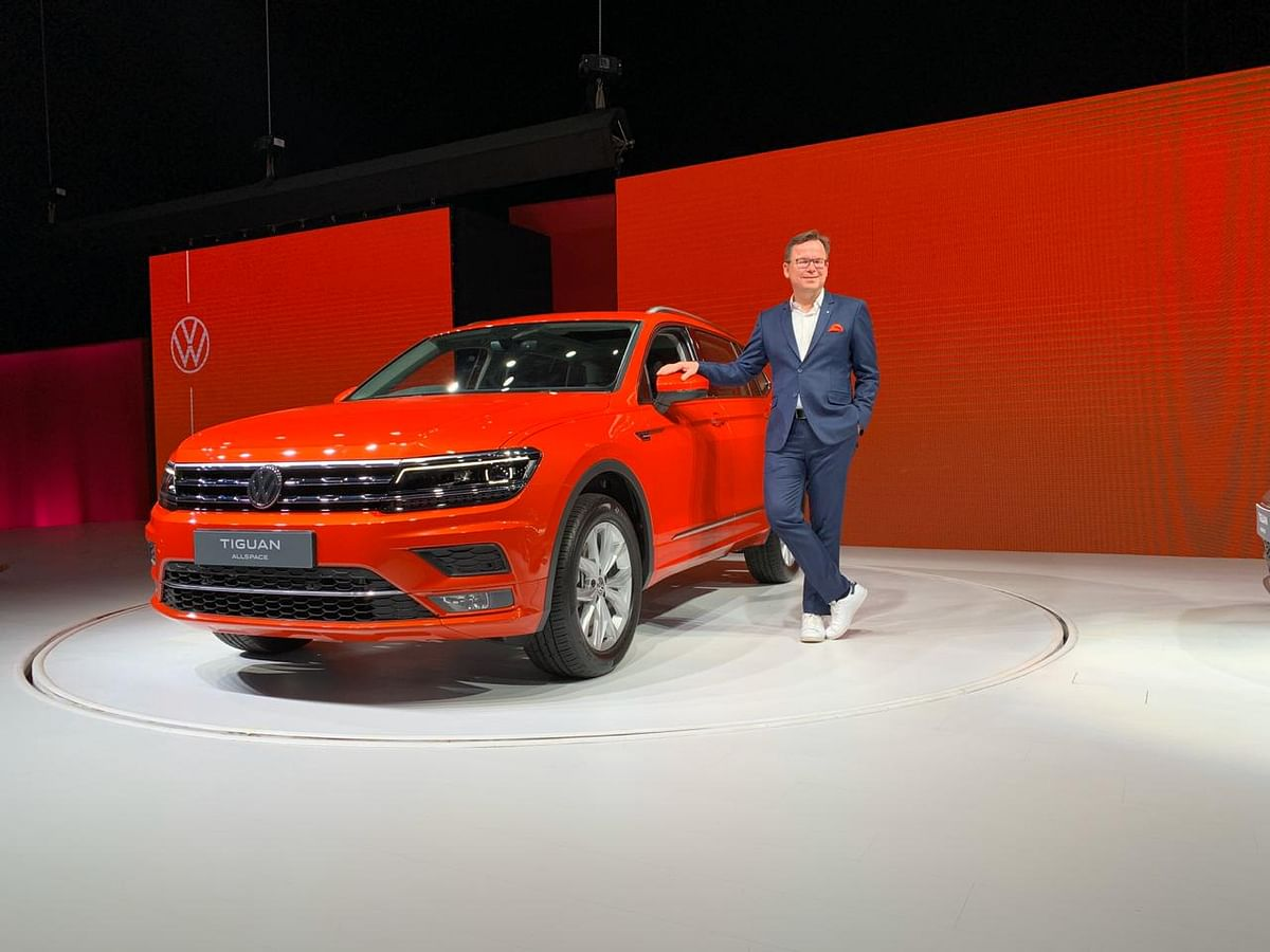 Volkswagen Tiguan Allspace launched at Rs 33.12 lakh | Rivals Skoda Kodiaq and Honda CR-V