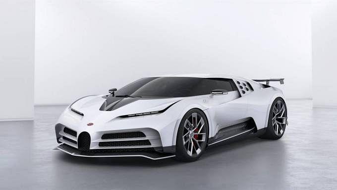 The Bugatti Centodieci only 10 units of this Bugatti EB110 tribute will be built.