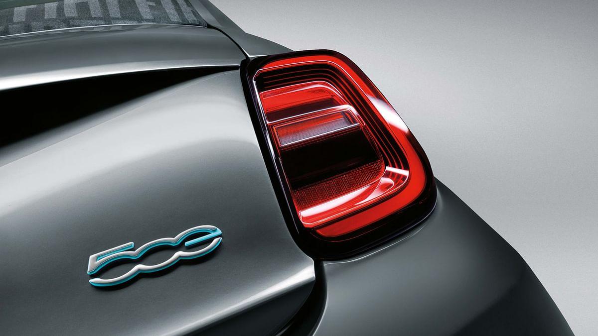 New 2020 Fiat 500 taillights
