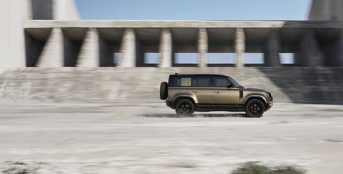 The Defender is based on an aluminium monocoque chassis