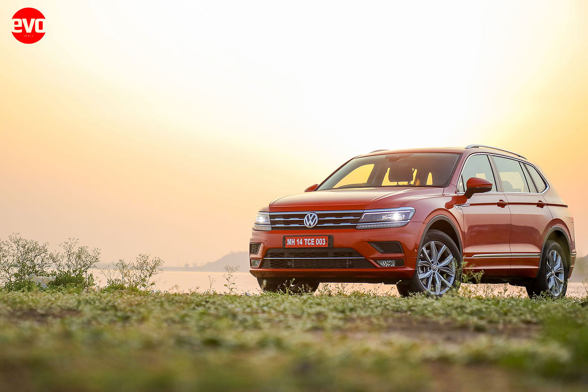 The first of Volkswagen's new SUVWs in India was the Volkswagen Allspace, with a new 2-litre TSI engine, more space and a host of features