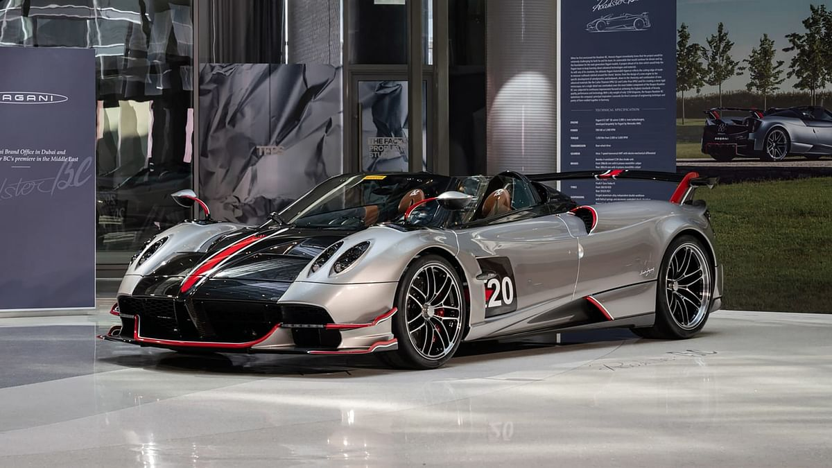 Pagani Huayra BC Roadster revealed with £2.8m price