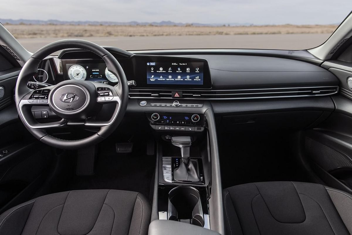 The higher-spec model showcases two 10.25-inch display units sitting under a piece of glass; one for the utility and the other one for driver assistance and navigation