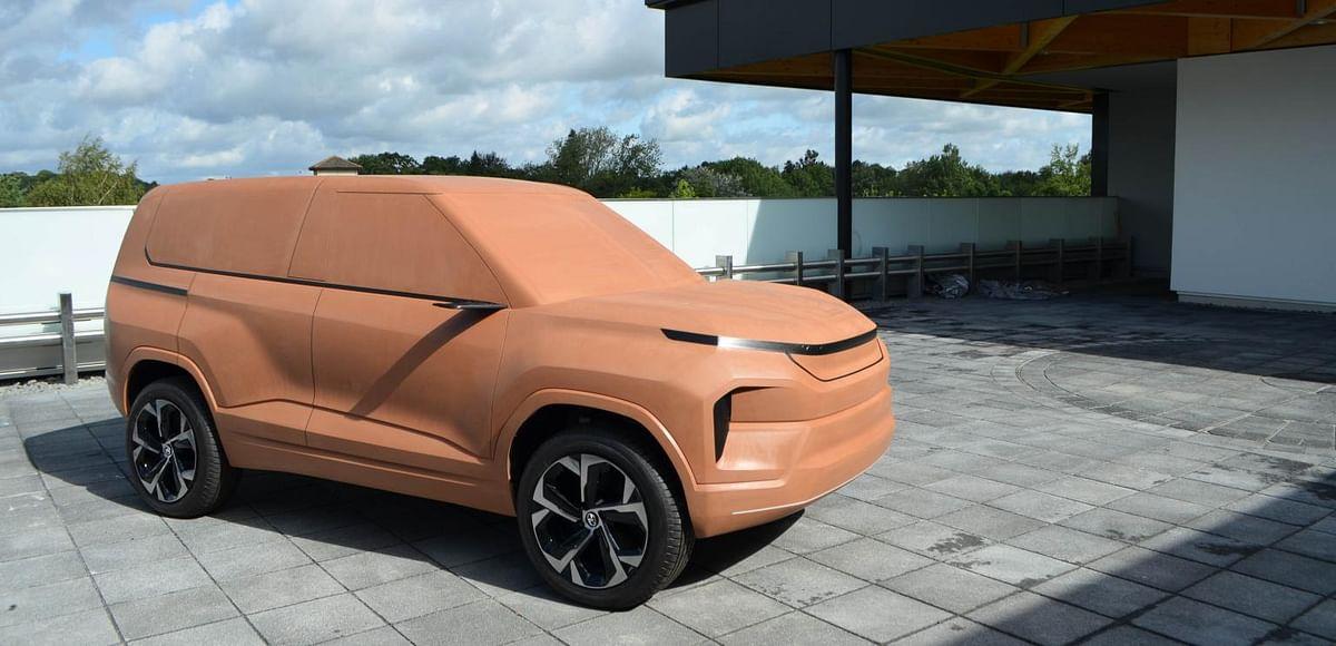 Tata Sierra Concept development