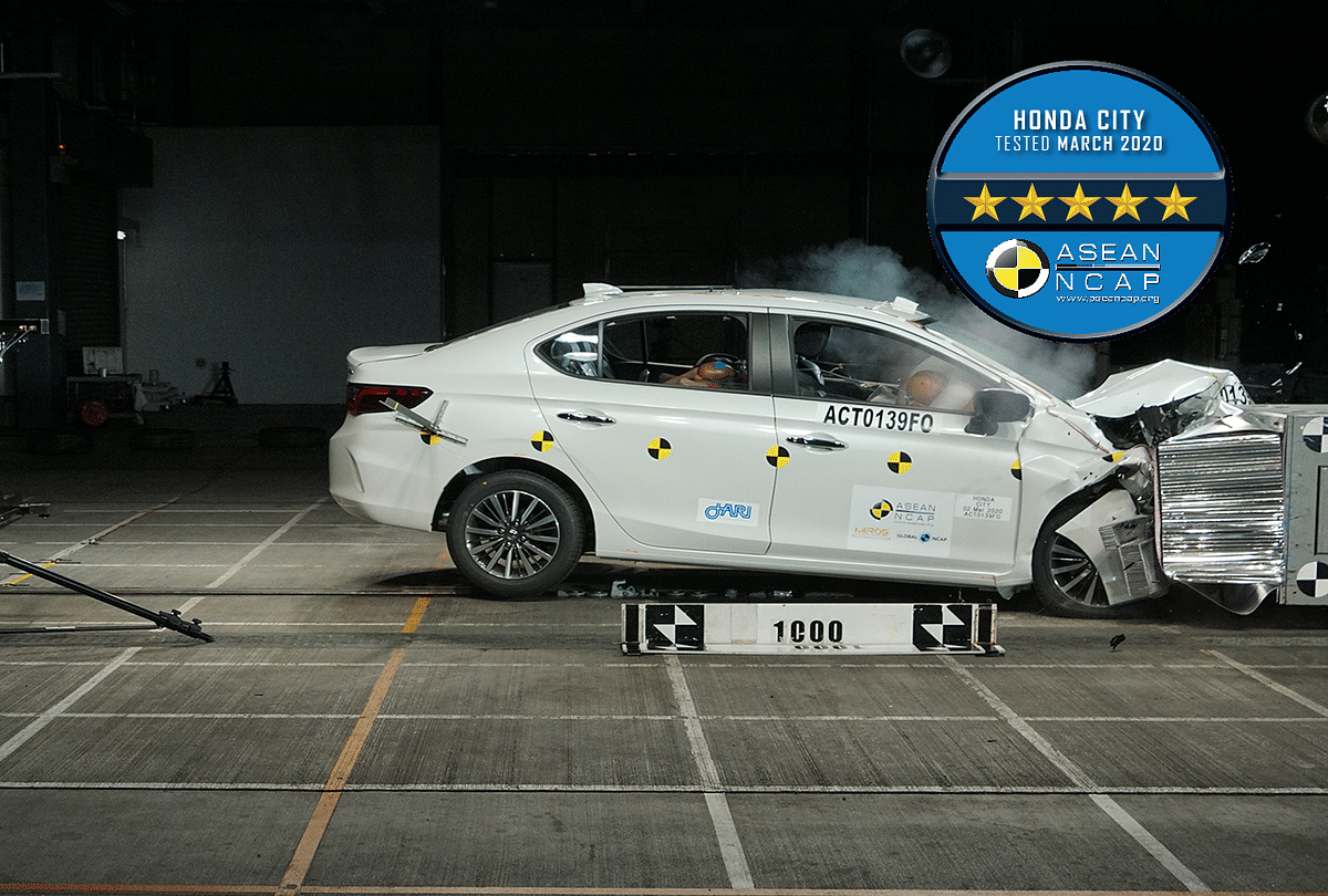 Upcoming 2020 Honda City scores 5 stars at the ASEAN NCAP