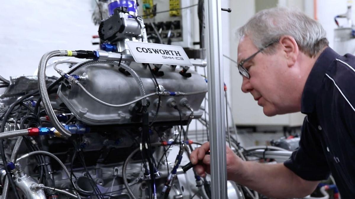 GMA Cosworth T.50 engine